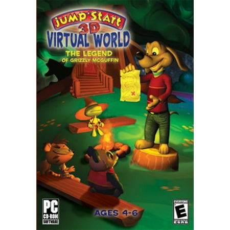 Image of JumpStart 3D Virtual World: The Legend of Grizzly McGuffin