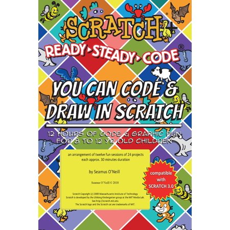 Scratch + Ready-Steady-Code: Flip Card Projects For 8-12 Year Olds - eBook - Halloween Projects For Two Year Olds