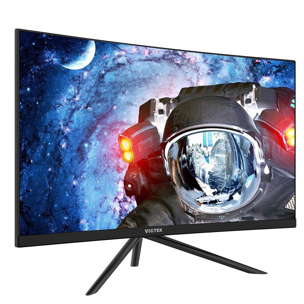 "VIOTEK GN27D 27"" HD Curved Freesync Gaming Monitor - 144Hz & 1440p VA Panel"
