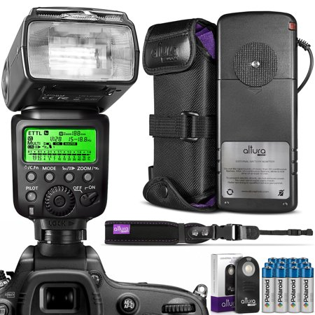 Altura Photo E Ttl Auto Focus Hss Professional Flash For Canon Dslr