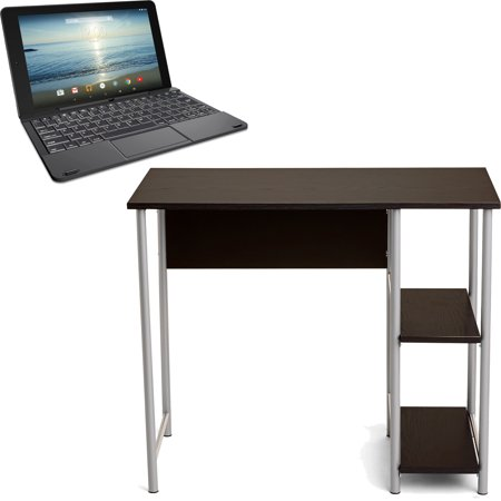Mainstays Basic Student Desk, Multiple Colors with RCA Viking Pro 10.1
