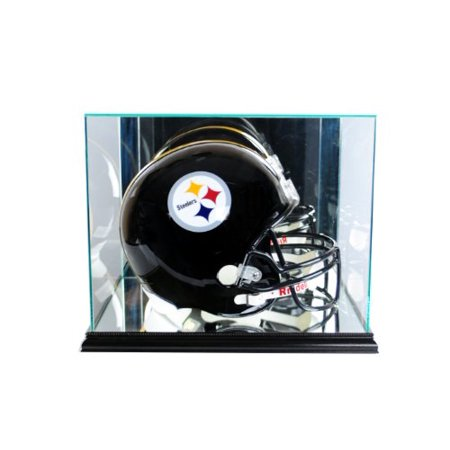 Perfect Cases NFL Rectangle Football Helmet Glass Display Case, Black - image 1 of 1