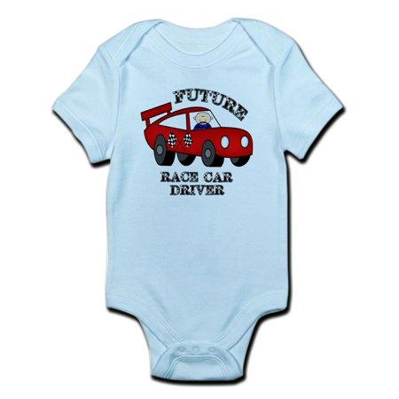 CafePress - Future Race Car Driver Cute Baby Boy Bodysuit - Baby Light Bodysuit](Cute Boy Tube)