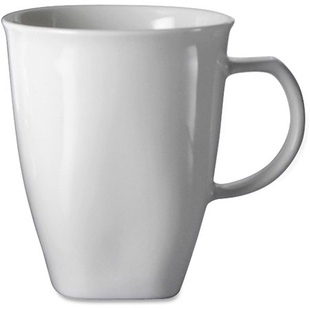 Office Settings, OSICTM1, Chef's Table Porcelain Mugs, 8 / Box, White ()