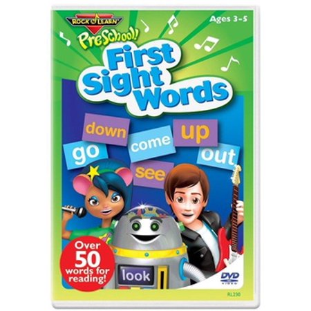 FIRST SIGHT WORDS (DVD) NLA (DVD) ()