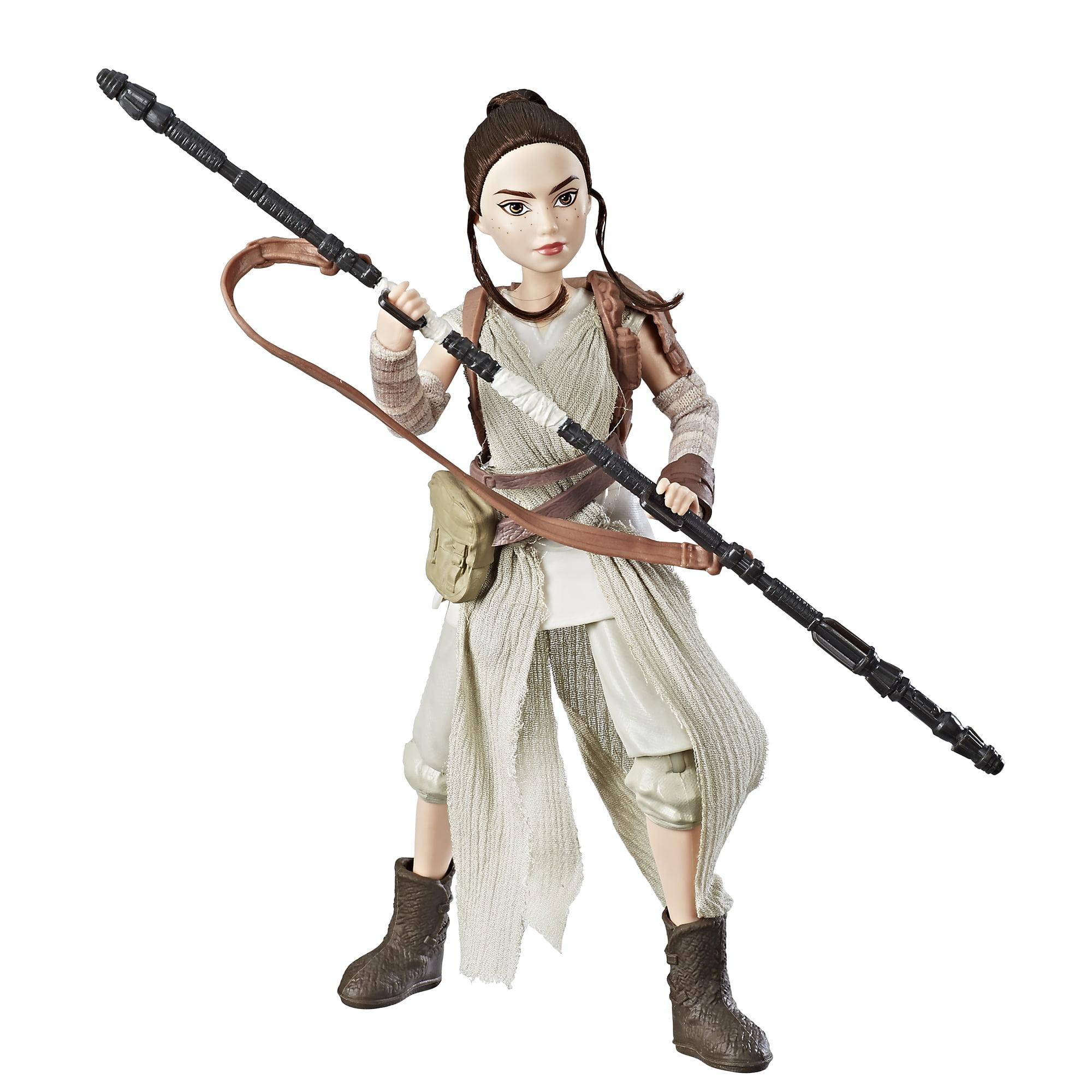 "Star Wars Forces of Destiny Rey of Jakku 12/"" Doll New in Box"
