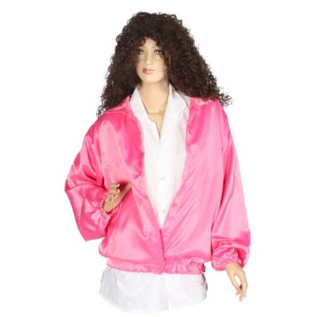 Alexander Costume  50s Satin Ladies Jacket, Pink - (James Bond Women's Costumes)