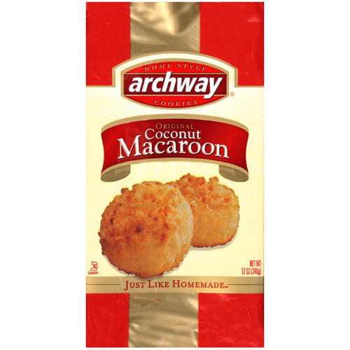 Archway Cookies, Original Coconut Macaroon, 10 OZ by Archway Cookies