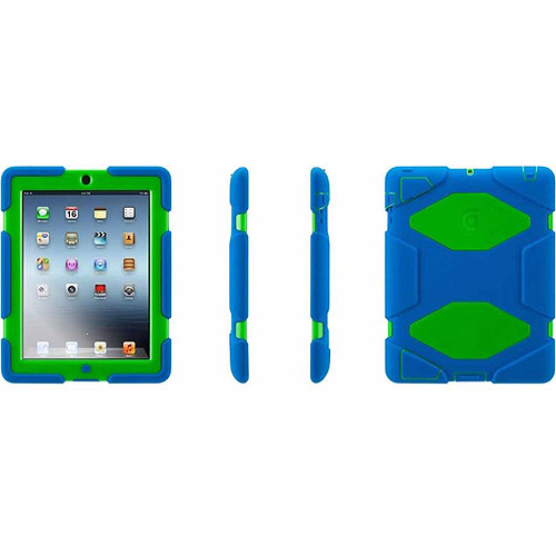 Griffin Griffin Survivor All-Terrain Case + Stand for iPad 2, 3, and 4th Gen, Military-duty case with stand