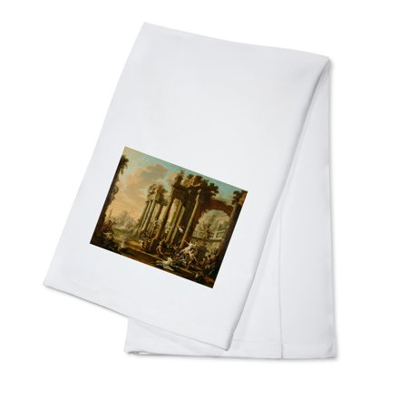 The Triumph Of Venus   Masterpiece Classic   Artist  Alessandro Magnasco C  1720S  100  Cotton Kitchen Towel