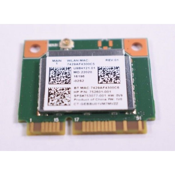 752601-001 HP WLAN Card 753077-001