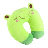 LHCER Animal Travel Neck PP Cotton Pillow Soft U Shaped Car Head Rest Toy Cushion,U Animal Pillow,U Pillow