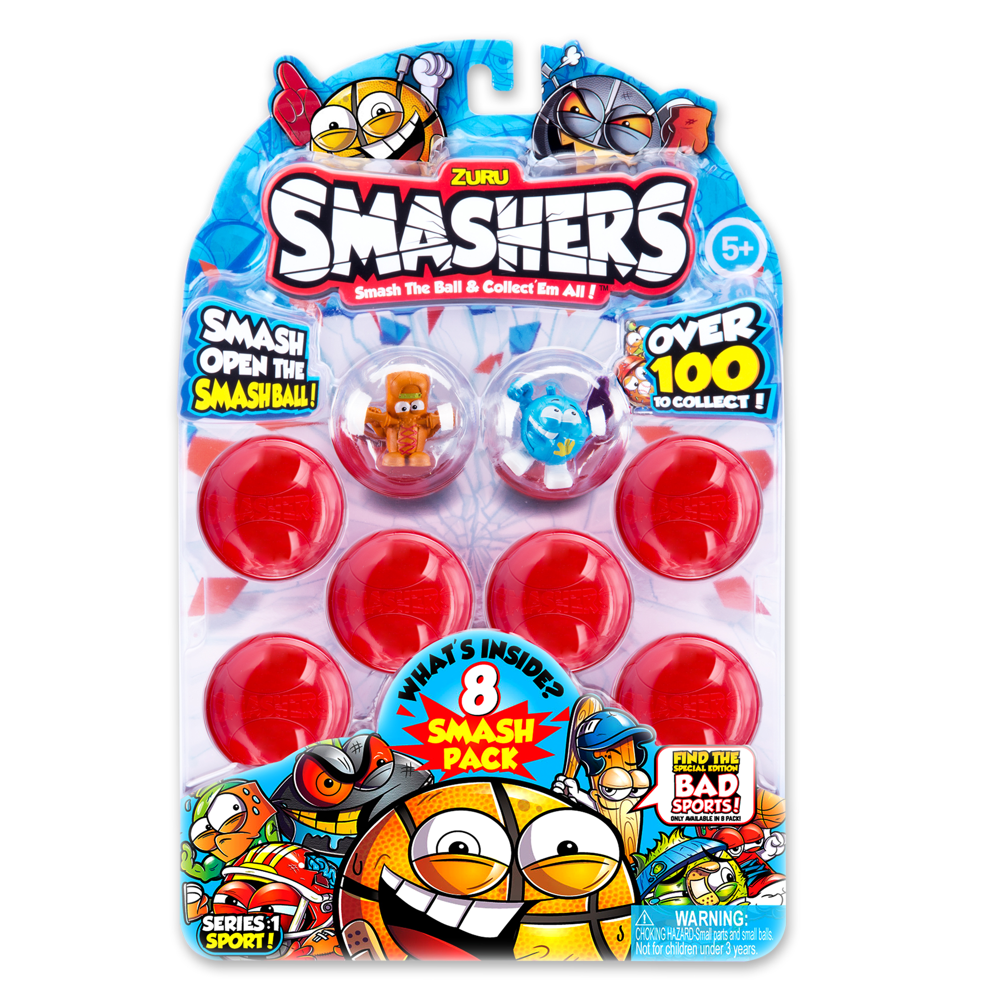 Smashers 8-pack with Collector's Guide (Series 1) by ZURU