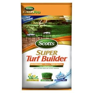 Scotts Super Turf Builder WinterGuard Lawn Fertilizer with PLUS 2 Weed Control, 17 lb.
