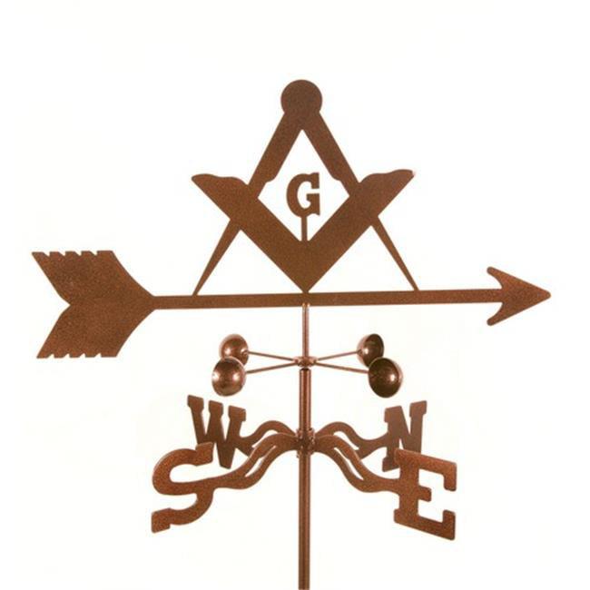 EZ Vane EZ1708-4S Masons Weathervane with Four Sided Mount - image 1 de 1