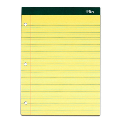 Double Docket Writing Tablet TOP99611