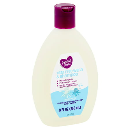 Parent's Choice Tear-Free Baby Wash & Shampoo, 9 fl oz