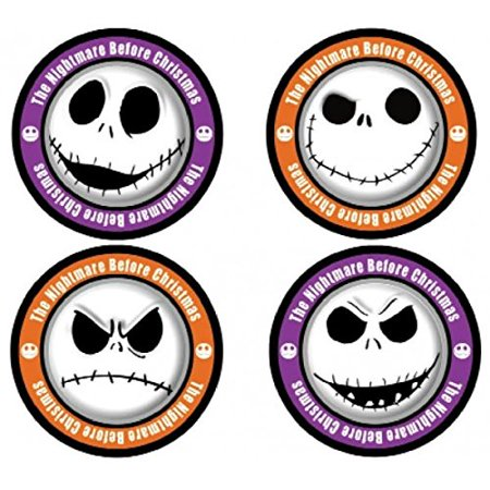 Nightmare Before Christmas Jack Skellington 4-Piece Coaster Set, Keep your tables free from water rings with help from the Pumpkin King of Halloweentown! By Monogram From USA - Halloweentown 6