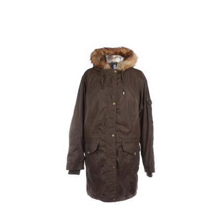 International Details Button Front Fur Coat (Stitch Detail Jacket)