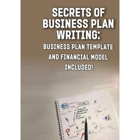 Secrets of Business Plan Writing : : Business Plan Template and Financial Model (Writing A Business Plan For A Bar)
