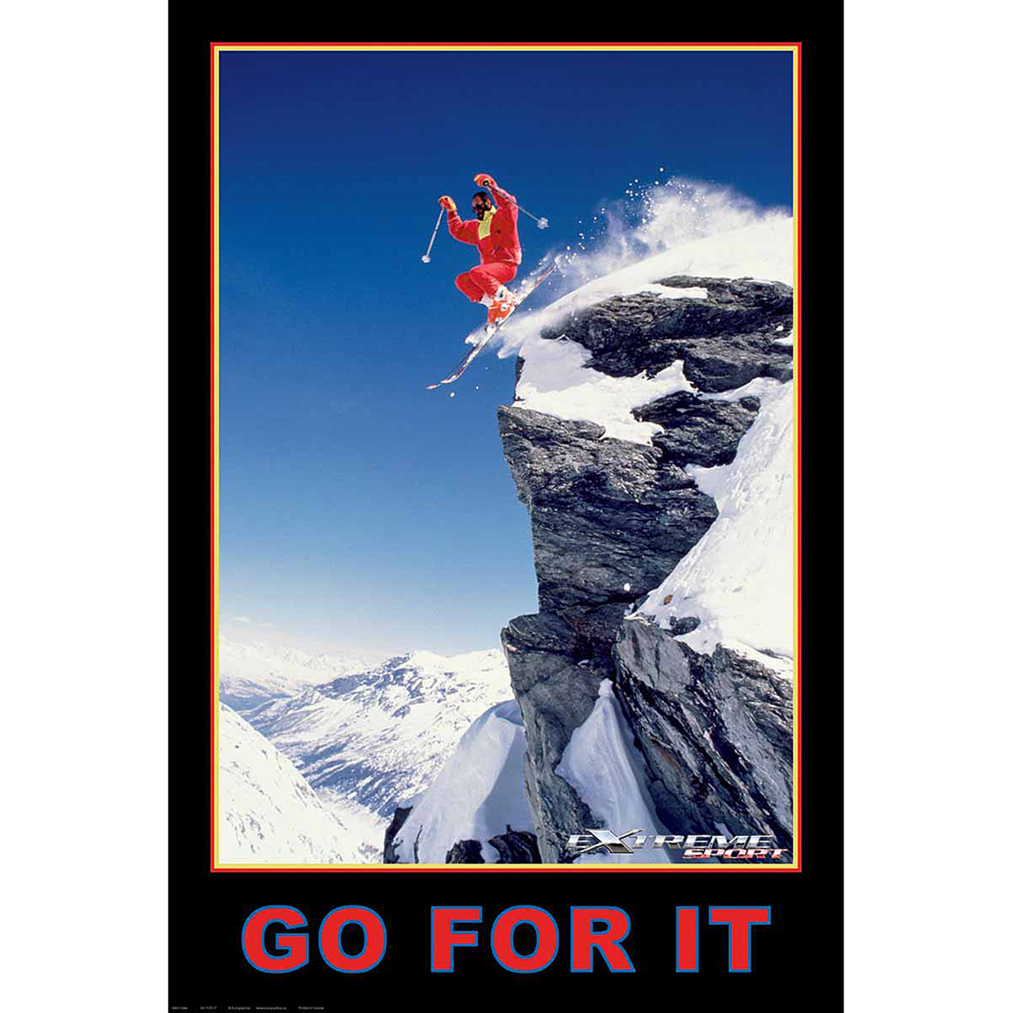 Skiing - Go For It