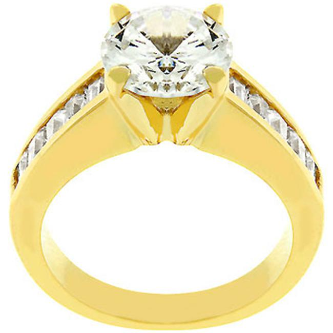 For Her Anniversary Ring In Gold- Size- 05