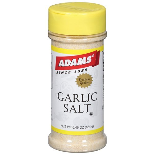 Adams Garlic Salt Spice, 6.49 oz