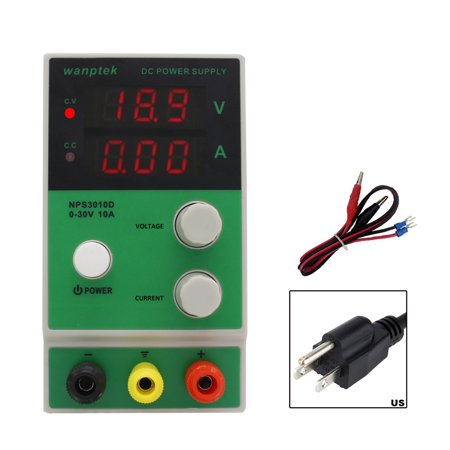 wanptek Mini Adjustable Digital Display DC Switching Power Supply for LABS Schools and Production Lines