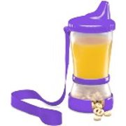 Mommy's Helper Sip N Snack Hard Spout Sippy Cup Combo
