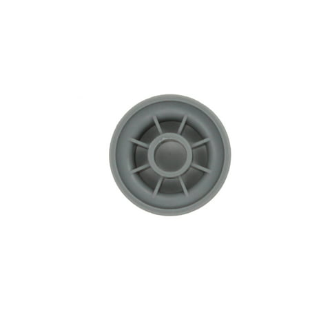 165314 Dishwasher Lower Dishrack Wheel Replacement for Bosch SHE46C06UC/43 Dishwasher - Compatible with 00165314 Lower Rack Roller - UpStart Components Brand - image 1 of 4