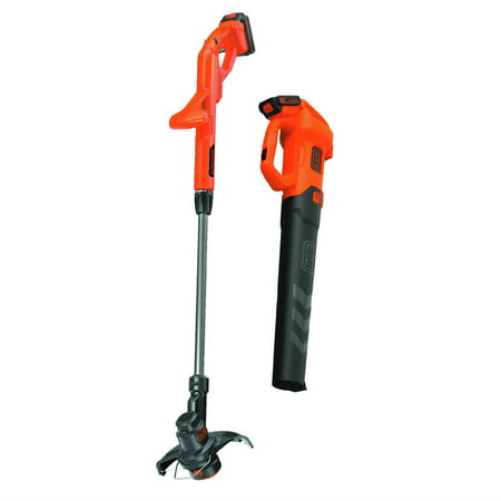 Image of Black & Decker BCK279D2 Axial Blower & String Trimmer Combo Kit