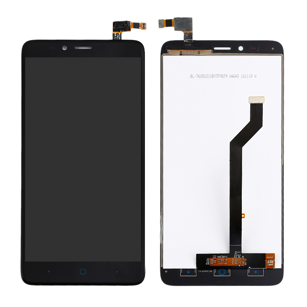 Black LCD Touch Digitizer Assembly Replacement For ZTE Im...