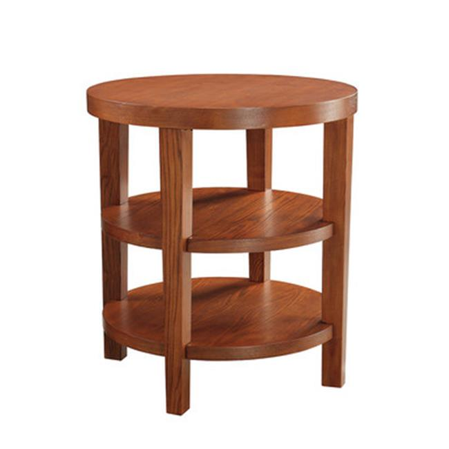 Avenue 6 Office Star MRG09-CHY Merge 20 in. Round End Table
