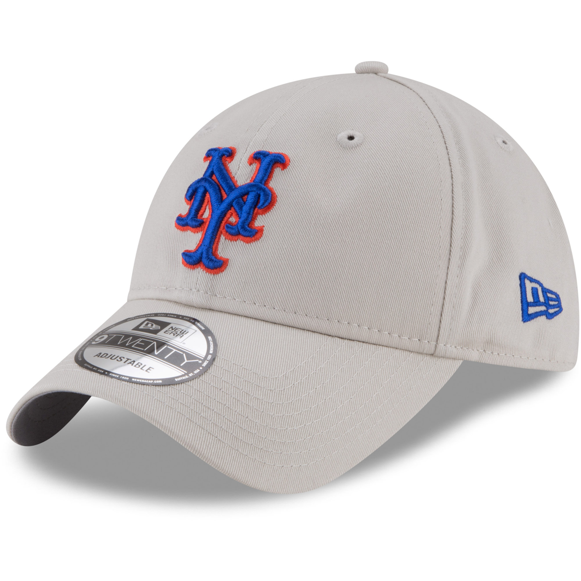 New York Mets New Era 9TWENTY Adjustable Hat - Khaki - OSFA