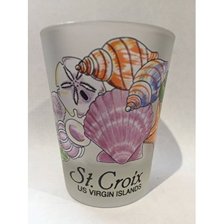St.Croix US Virgin Islands Sea Shells Caribbean Shot Glass](Shotgun Shell Shot Glasses)