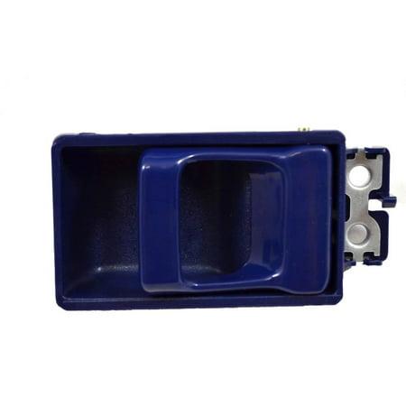 - PT Auto Warehouse NI-2030J - Inner Interior Inside Door Handle, Blue - Left = Right
