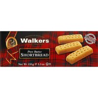 Walkers Pure Butter Shortbread, 5.3 oz, (Pack of 12)