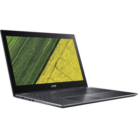 """Acer Spin 5 SP515-51N-51GH 15.6"""" Touchscreen 2 in 1 Notebook - 1920 x 1080 - Core i5 i5-8250U - 8 GB RAM - 1 TB HDD - Steel Gray - Windows 10 Home 64-bit - Intel UHD Graphics 620 - In-plane Switc"""
