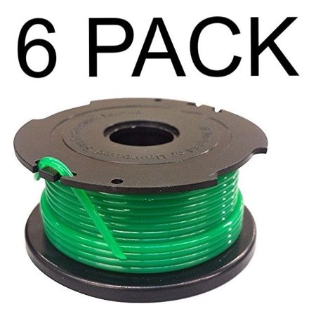 - 6 Replacement Spools for Black and Decker SF-080 Auto Feed Trimmer