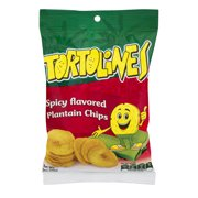 Tortolines Spicy Flavored Plantain Chips, 2.5 Oz.
