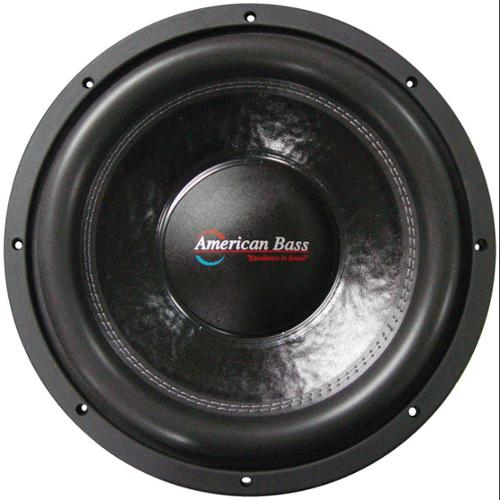 "American Bass XFL1244 12"" Subwoofer American Bass With Dual 4 Ohm Voice Coils; 200 Oz Magnet"