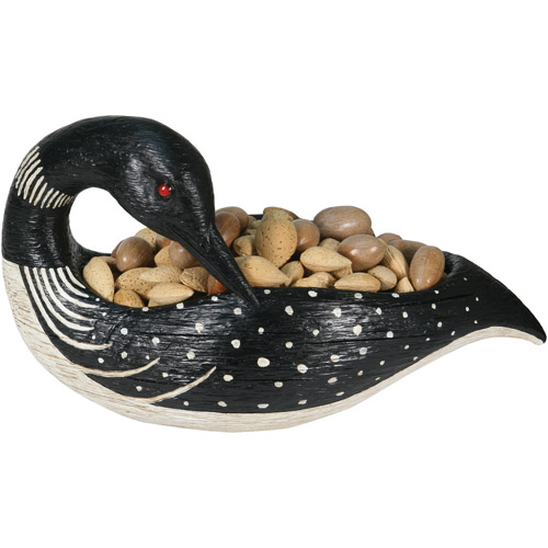 Rivers Edge Products Loon Candy Bowl