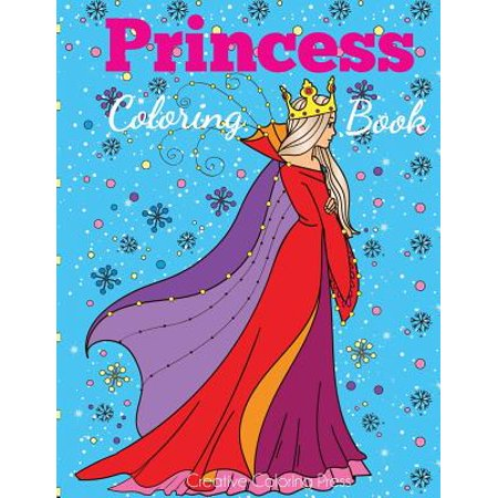 Halloween Coloring Sheets For Toddlers (Princess Coloring Book : Princess Coloring Book for Girls, Kids, Toddlers, Ages 2-4, Ages)