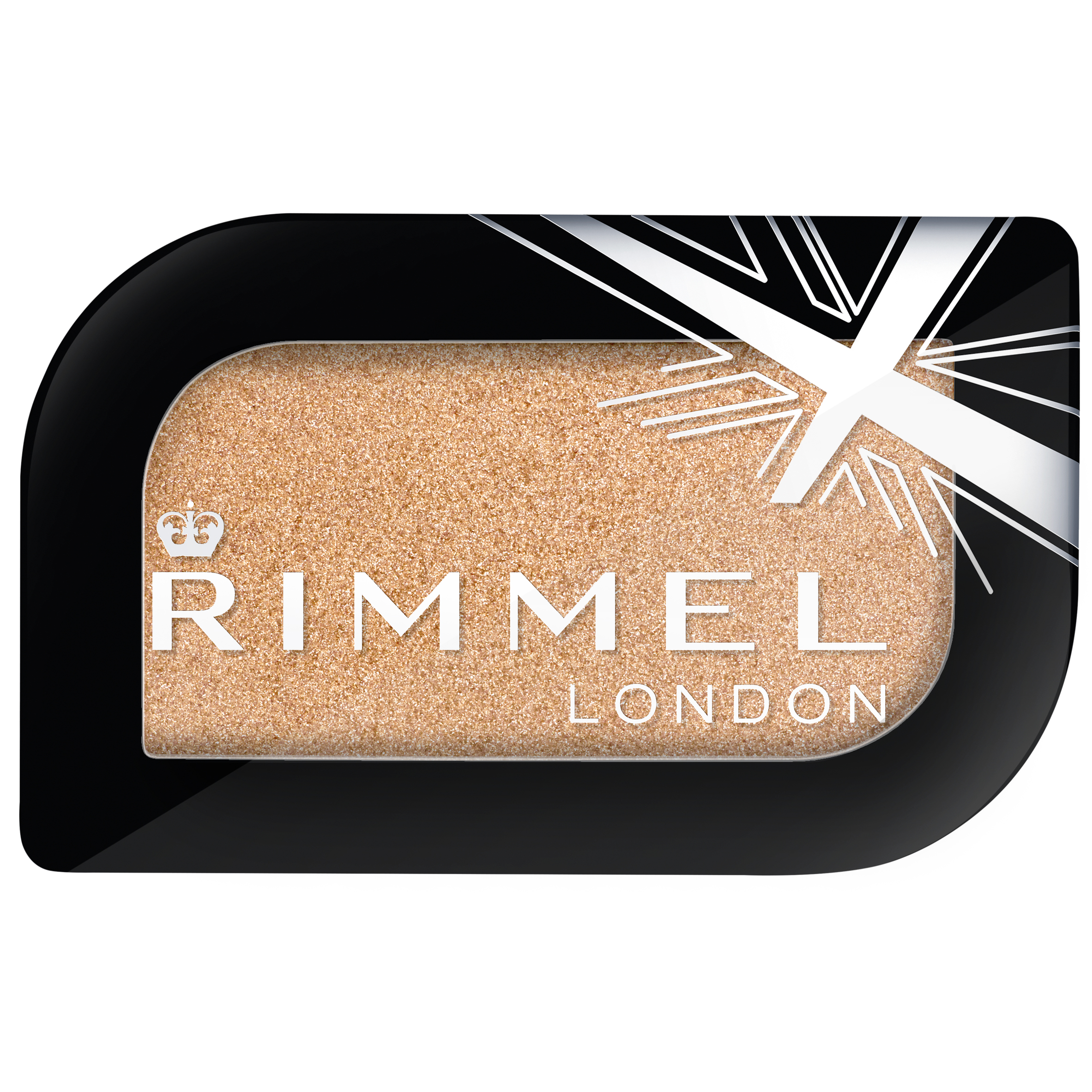 Rimmel London Magnif'eyes Mono Eyeshadow, 001 Gold Record, .16 oz