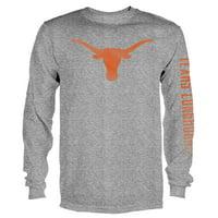Product Image Men s Gray Texas Longhorns Notion Long Sleeve T-Shirt a4e4b58a260e