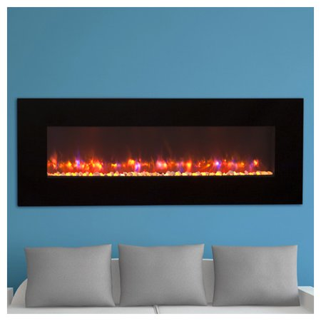 The Outdoor GreatRoom Company Linear Wall Mount Electric Fireplace
