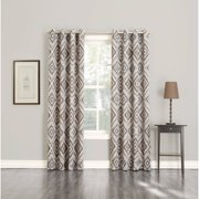 Exclusive Home Modo Indigo Grommet Top 84 Inch Curtain