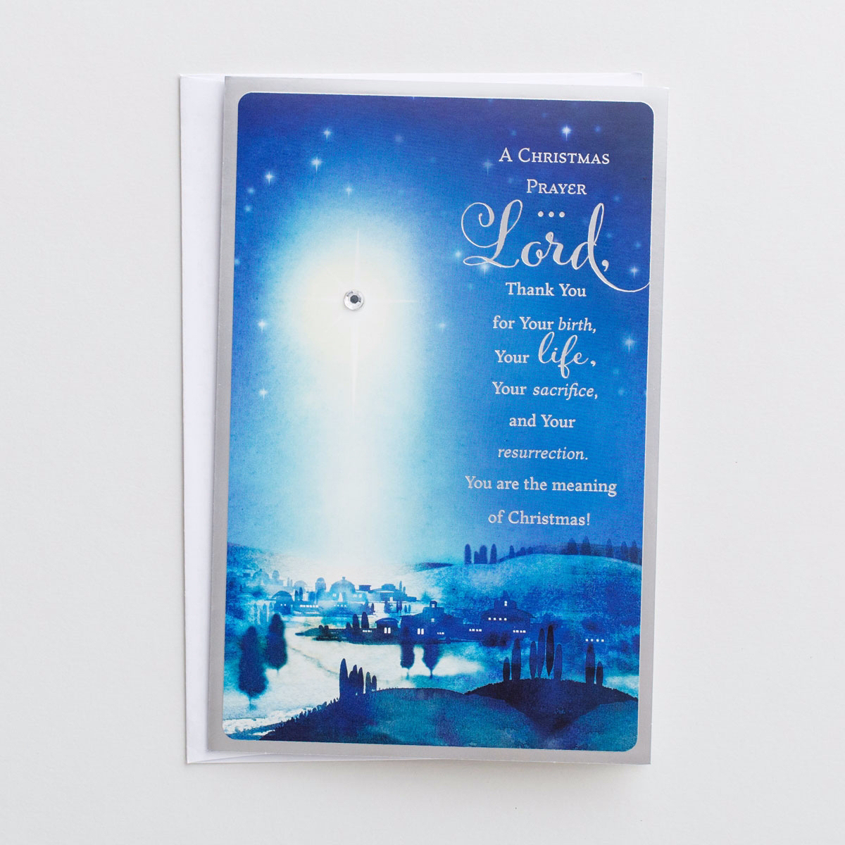 Card-Boxed-A Christmas Prayer-John 1:16 NIV (Box Of 18)