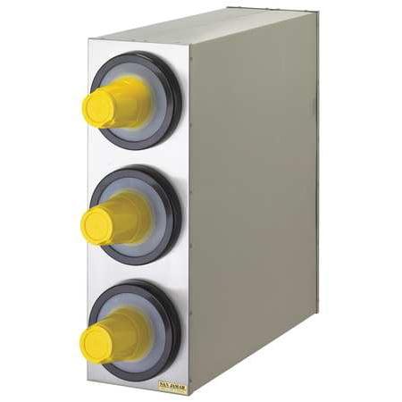 SAN JAMAR C2803GR 3 Cup Dispenser System