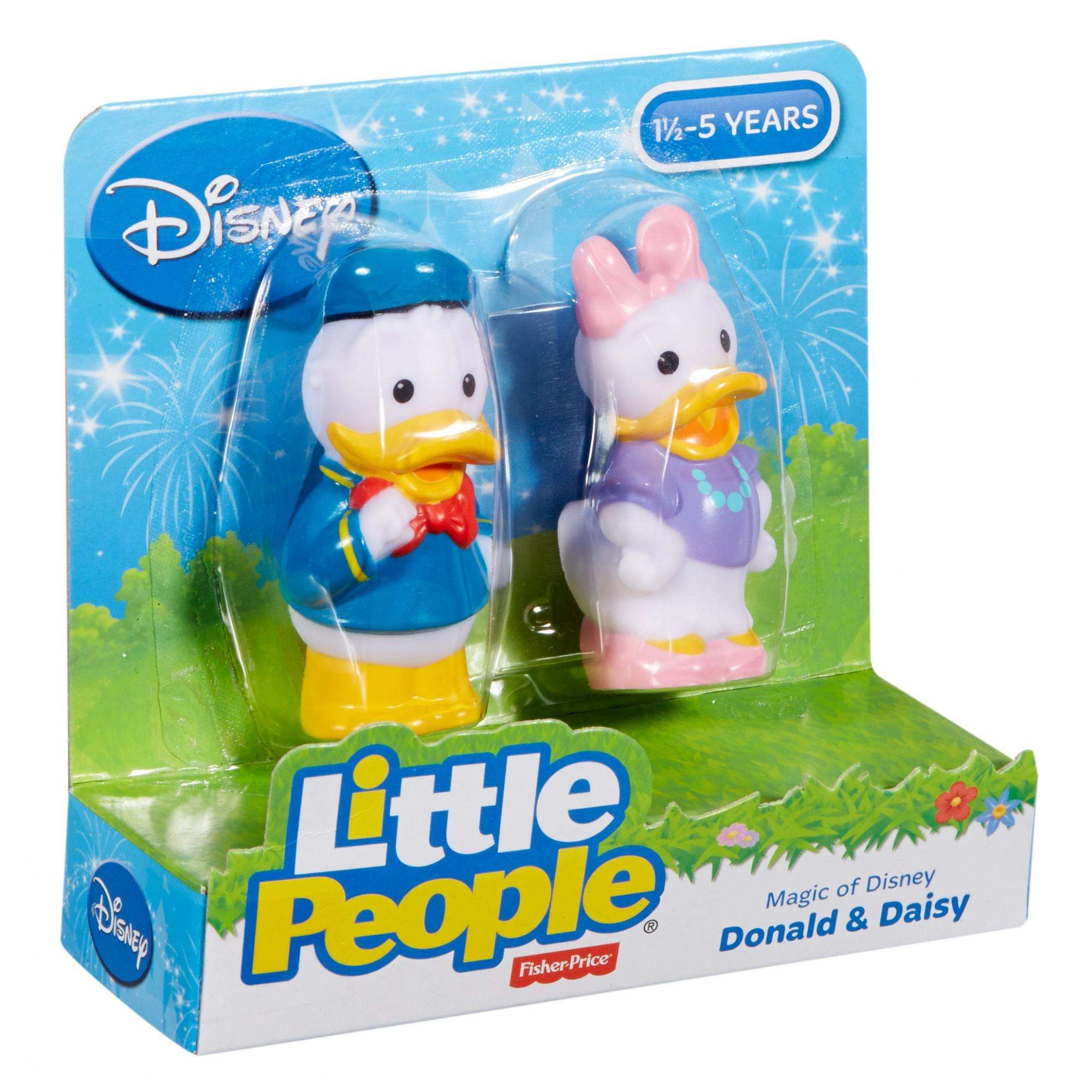 Magic of Disney Donald and Daisy Friends by Little People - Walmart.com